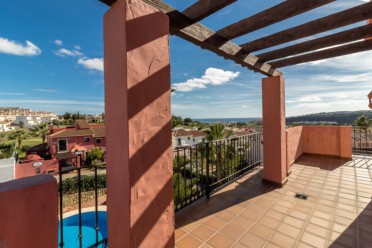 Fantastic corner house in a quiet area with sea view.  This high quality and tastefully furnished ho,Spain
