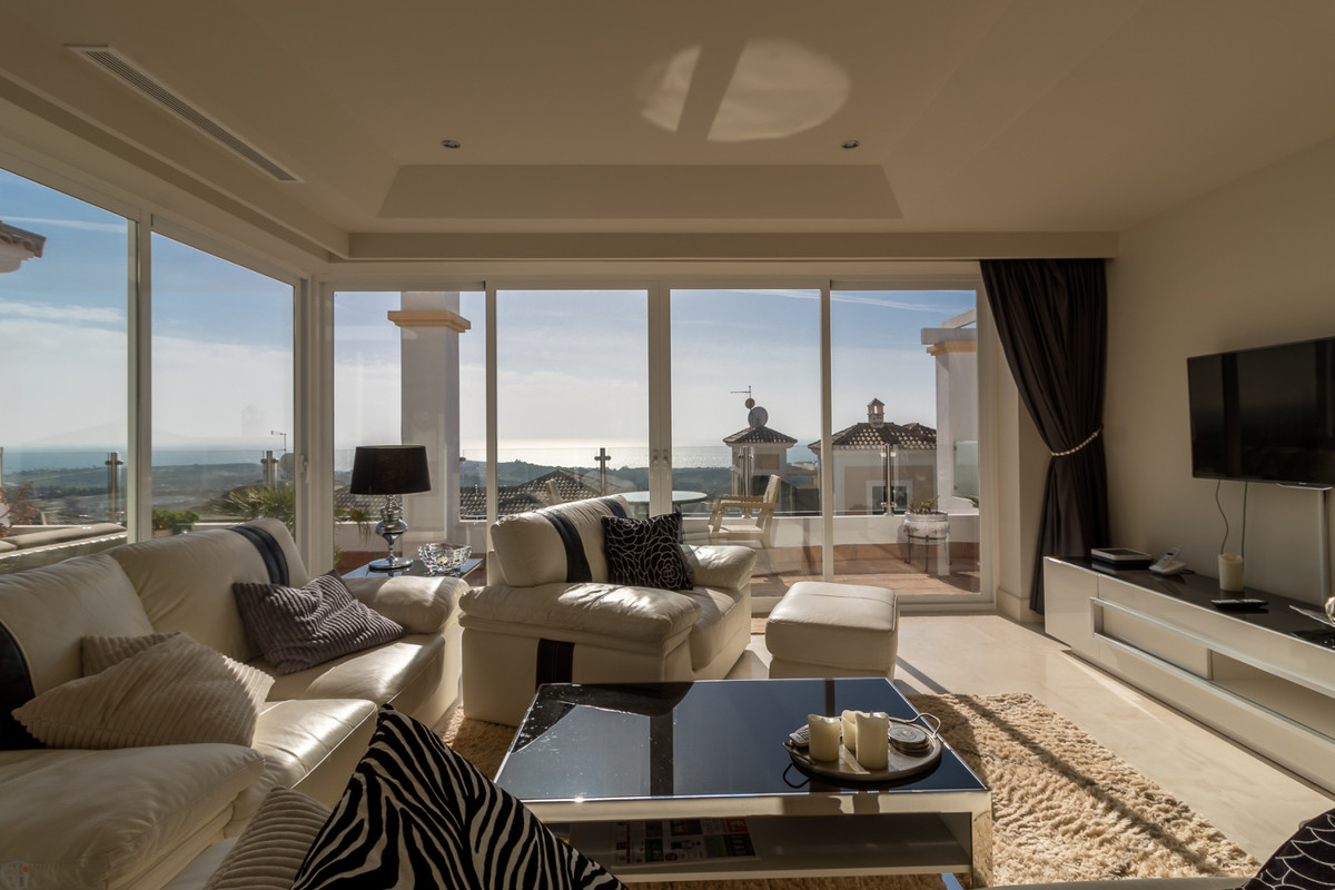 Amazing 3 bedroom penthouse with fantastic sea views.  This elegant and spacious apartment offers a ,Spain