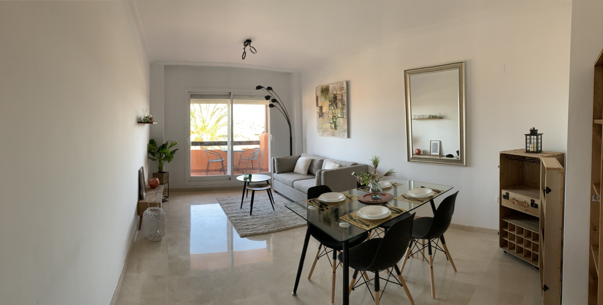 Urbanization Casares del Sol Apartment with excellent sea views consists of two bedrooms and two bat, Spain