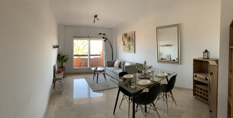 Ground Floor Apartment in Casares Playa for sale