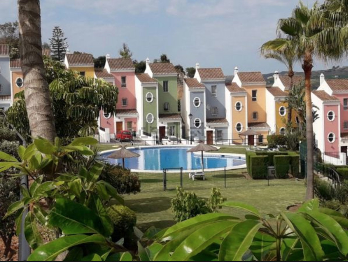 For sale semi-detached house in area of ??Bahia de Casares, Malaga. The house has 3 floors, which ar, Spain