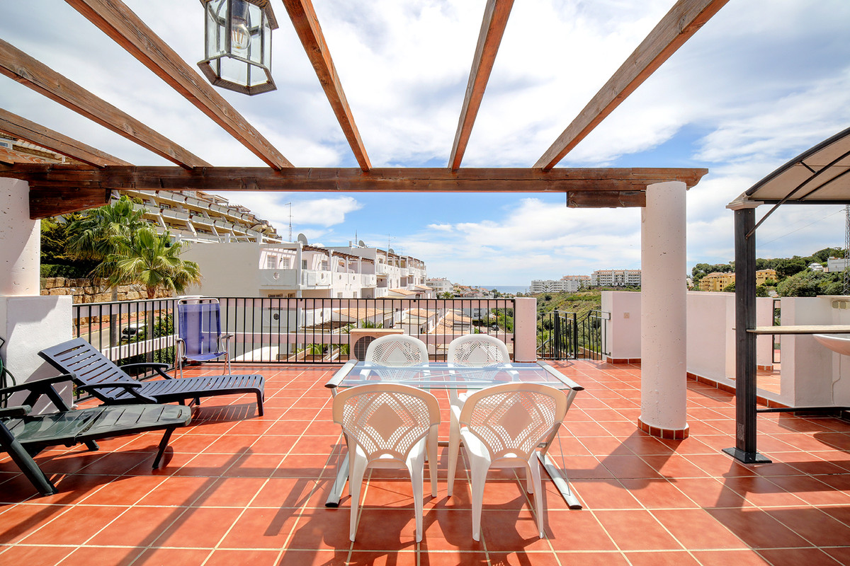 Cozy 2bed corner penthouse in Riviera del Sol, quiet area full of green areas and the golf course, b,Spain