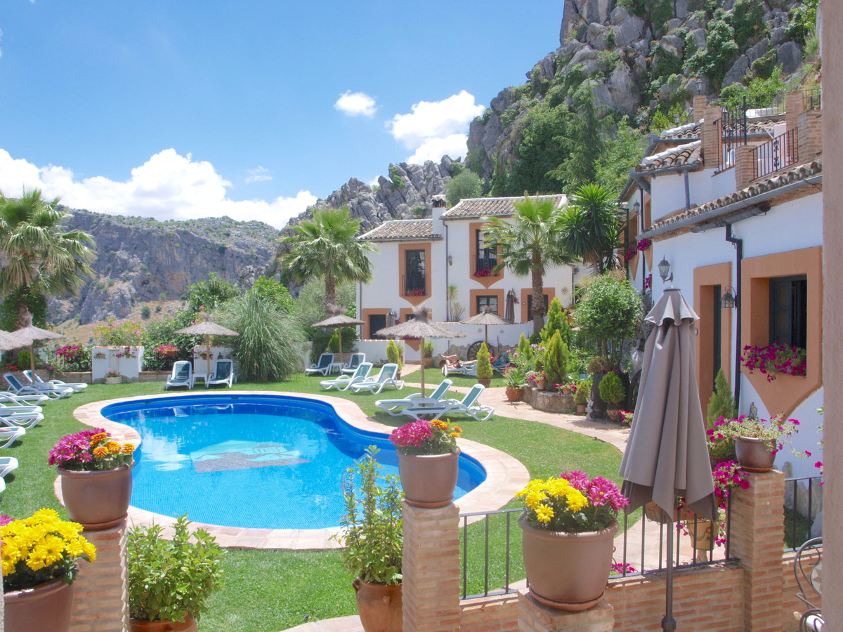 In Montejaque (town 10minutes away from Ronda and near Grazalema) Amidst stunning mountainous scener, Spain