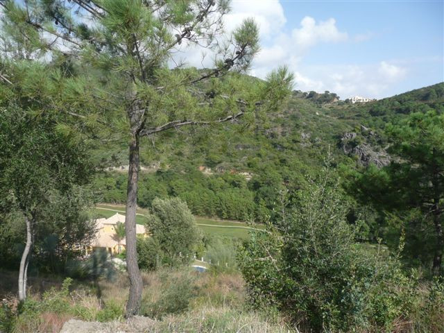 A superb building plot in the Resort of Monte Mayor - only minutes from the coast set amongst beauti,Spain