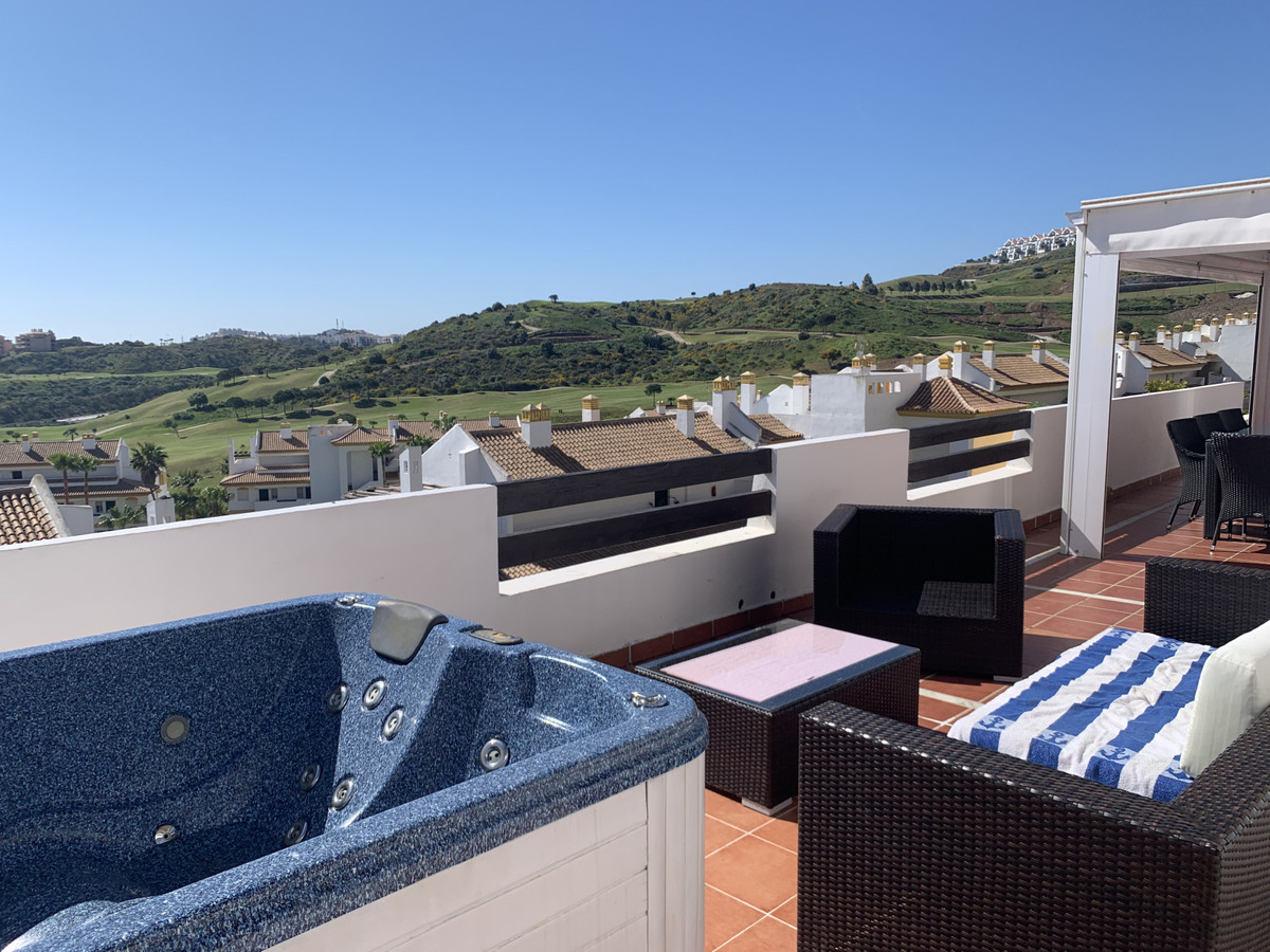 Penthouse with panoramic sea & golf views. Located in the popular gated community Grand Calanova,Spain