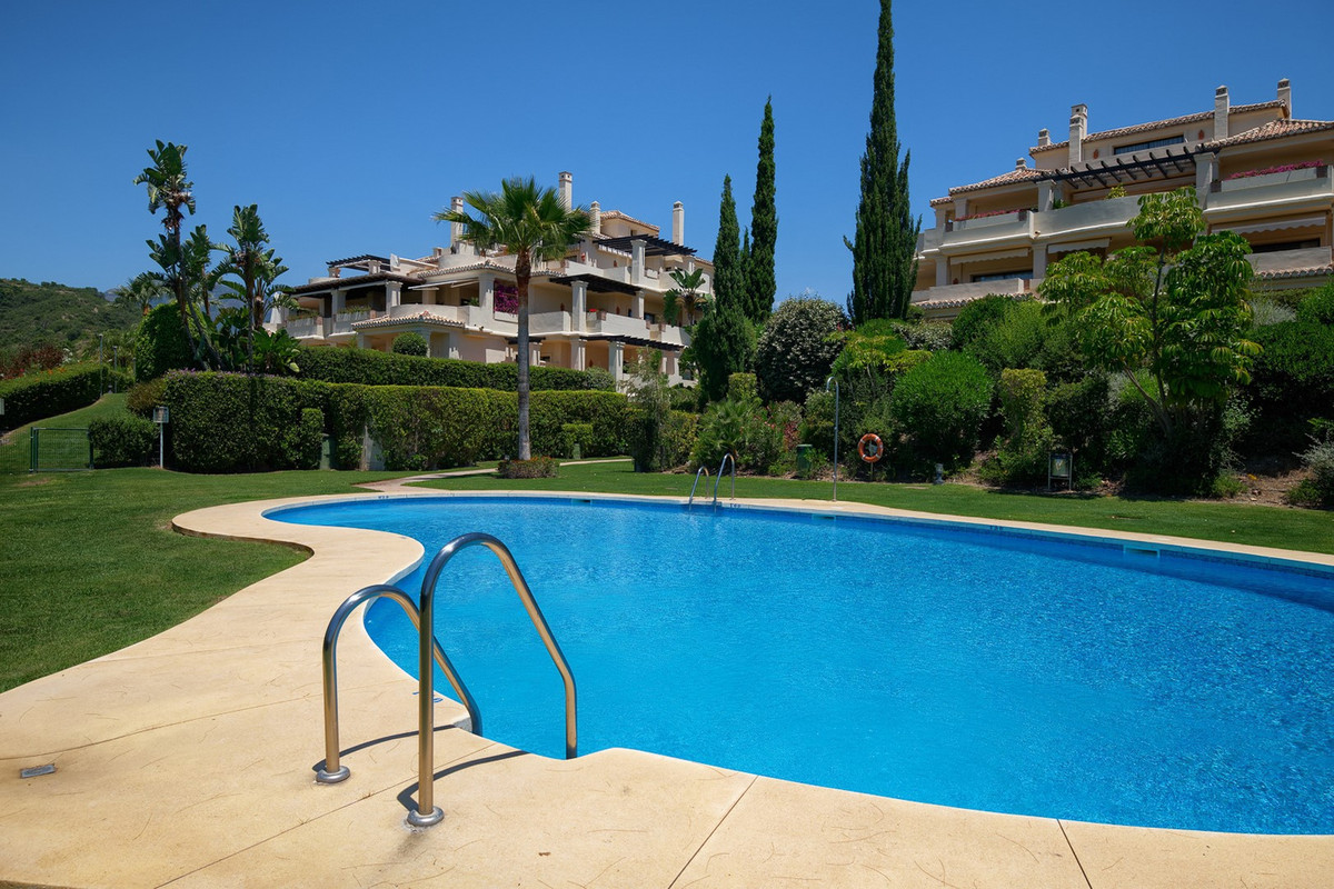 Beautifully located duplex penthouse in Capanes del Golf.  South to west orientation with views to t,Spain