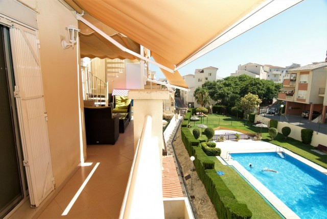 Amazing penthouse with sun all day and nice views, a holiday dream come true. 2 bedrooms and 1 bathr,Spain