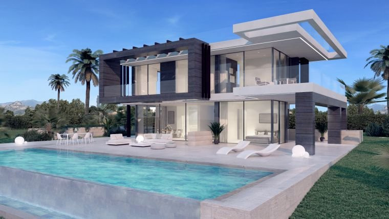 The design of Valle Romano 42 is elegant and modern at the same time, its stunning architecture mixe,Spain