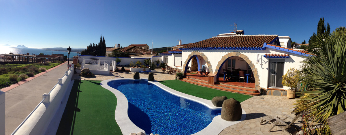 Villa is located Punta Chullera 5 minutes from the entrance to Sotogrande Port   This Villa has spec,Spain