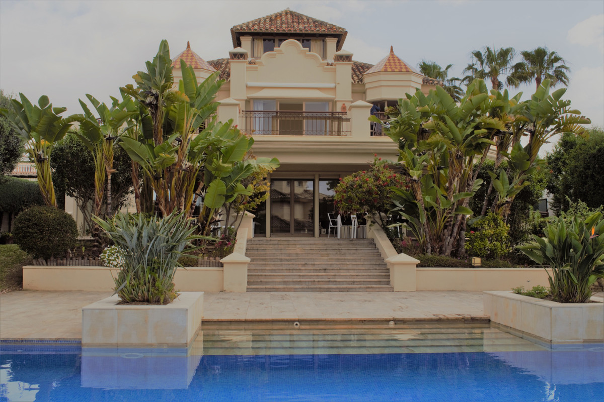 - LAS CHAPAS SIDE OF THE BEACH -  5 bedroom villa located on the second line of the beach, this magn,Spain