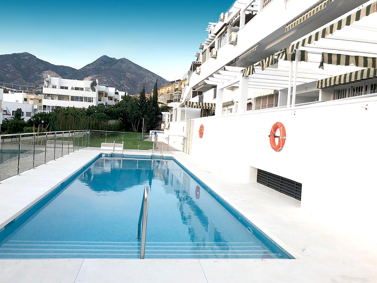 Cosy apartment with great views in Torrequebrada well located, within walking distance to a large su,Spain