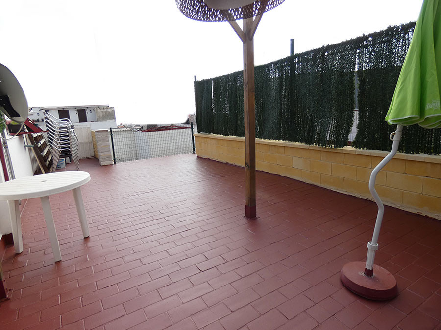 In the heart of Benalmadena, apartment for sale on the first and last floor of a village house with ,Spain
