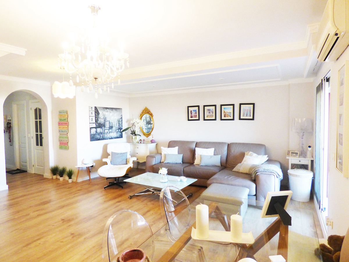 In the heart of Benalmadena Costa, within easy walking distance to all amenities of Palmeras Avenue,Spain