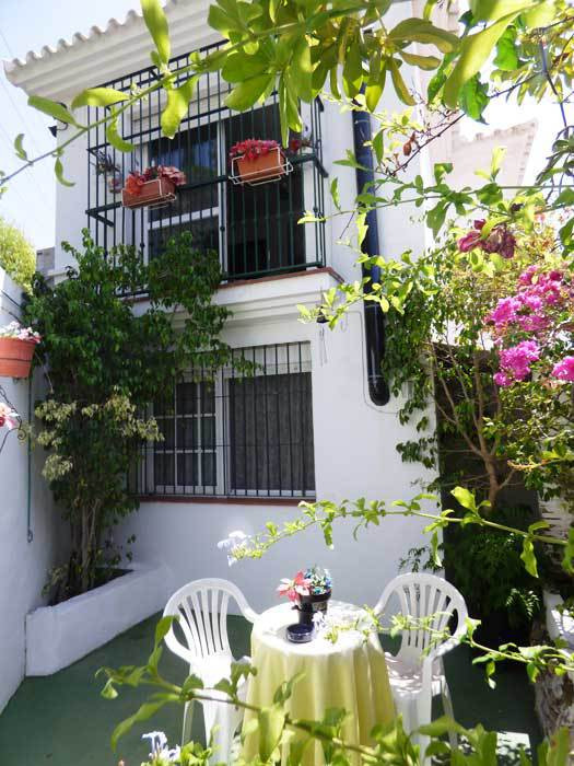 Lovely semi dettached  two level Andalusian style house for sale in Benalmadena Pueblo, near the his,Spain