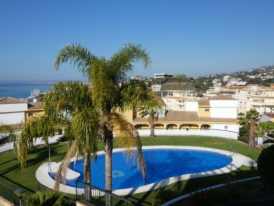 In Benalmadena Costa, lovely  apartment for sale with panoramic view of the sea, the mountain and th, Spain
