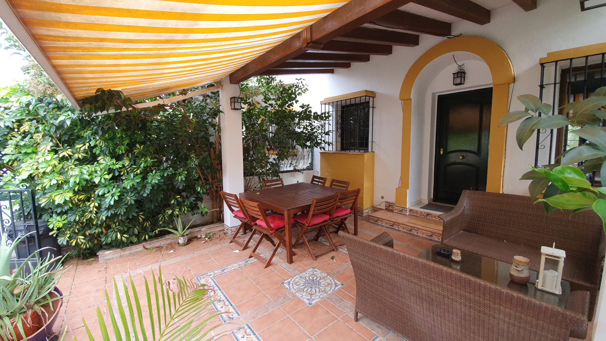 Beautiful corner townhouse for sale just 350 meters from the seaside and the beach in the Torrequebr,Spain