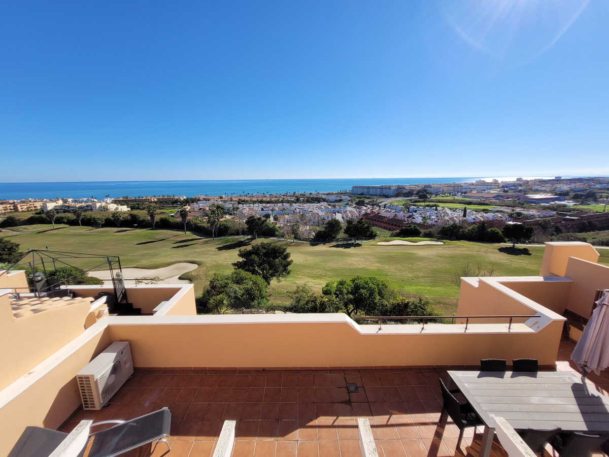 Stunning Penthouse Apartment with incredible panoramic views to the sea, mountains, golf and beach. ,Spain