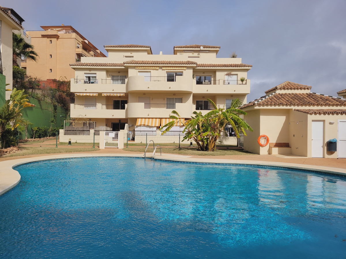 Bank repossession – Excellent opportunity and investment with sea views located in Mijas Costa.  Thi,Spain