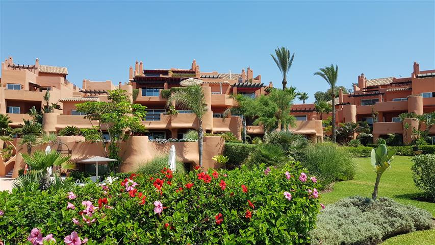 This stunning and exclusive beachfront apartment complex is located in the prestigious area of ', Spain