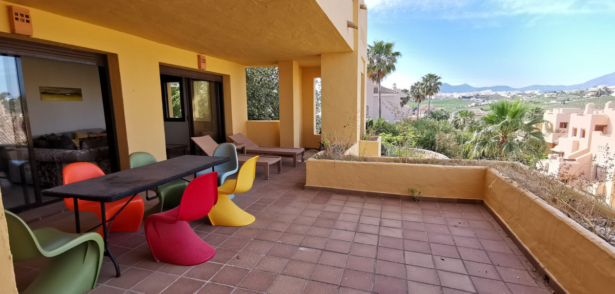 A fantastic three-bedroom ground-floor apartment located in Duquesa Village.  The apartment has a lo,Spain