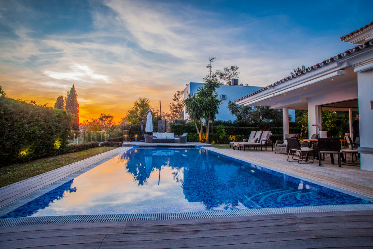 Exceptional villa in Elviria, 200 meters away from the best beach in Marbella.  Traditional Andalusi,Spain