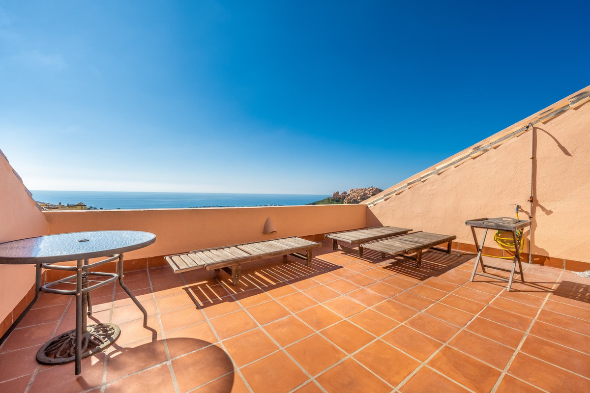 Large duplex penthouse located in the upper part of Calahonda, a beautiful complex with waterfalls, , Spain