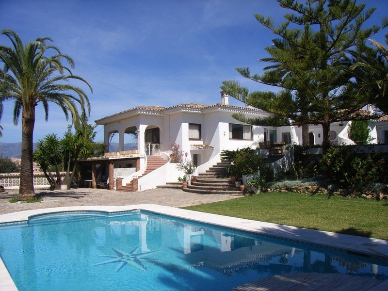 This lovely family home is set in the hills of Elviria, on the east side of Marbella and boasts love,Spain