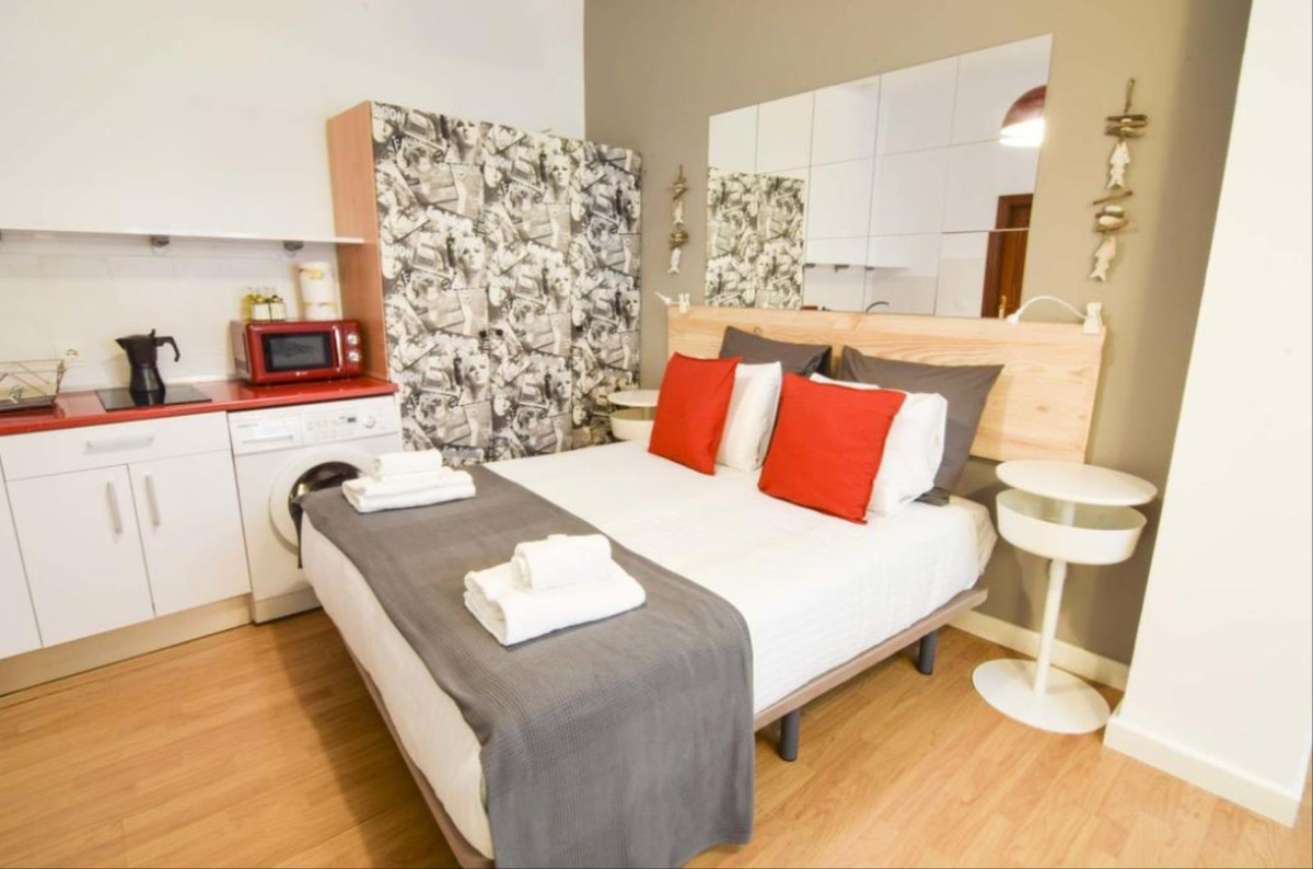 Charming studio in the heart of the old town of Malaga with a net annual profit of 10%. Located on t,Spain