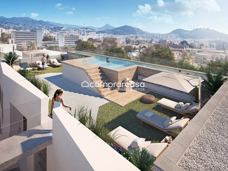 Апартамент нижний этаж in Málaga