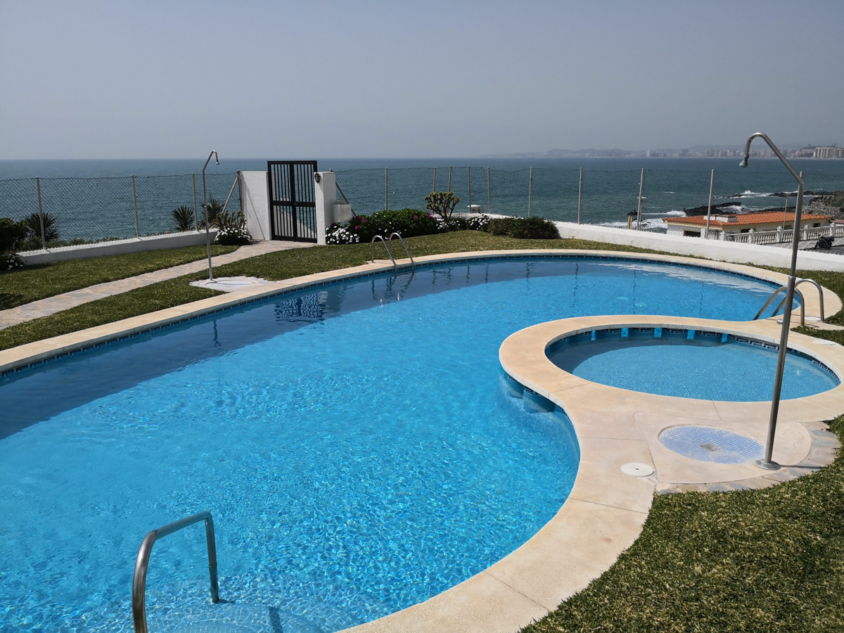 Beautiful beachfront apartment in Torremuelle, with large terrace and located a few meters from the ,Spain