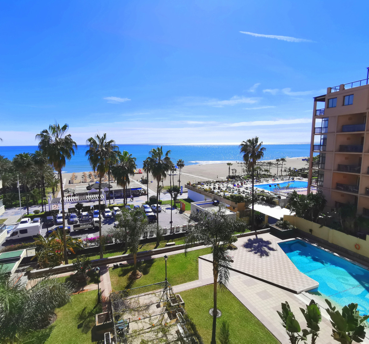 In La Carihuela with stunning sea views!!  Magnificent apartment with fantastic views over the Medit,Spain