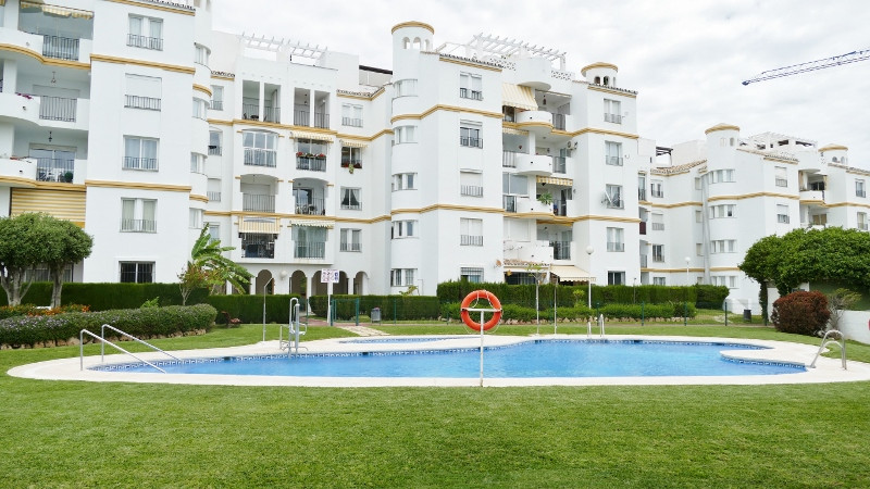 TORREQUBRADA SECOND LINE: two bedroom garden apartment set in well-established urbanisation and with, Spain