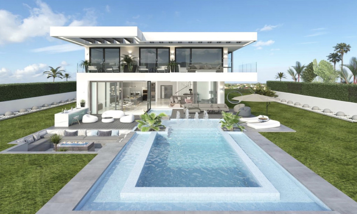 OFF-PLAN FIRST LINE ECOLOGICAL LUXURY CONTEMPORARY VILLA FIRST LINE IN LA CALA GOLF with fabulous vi,Spain