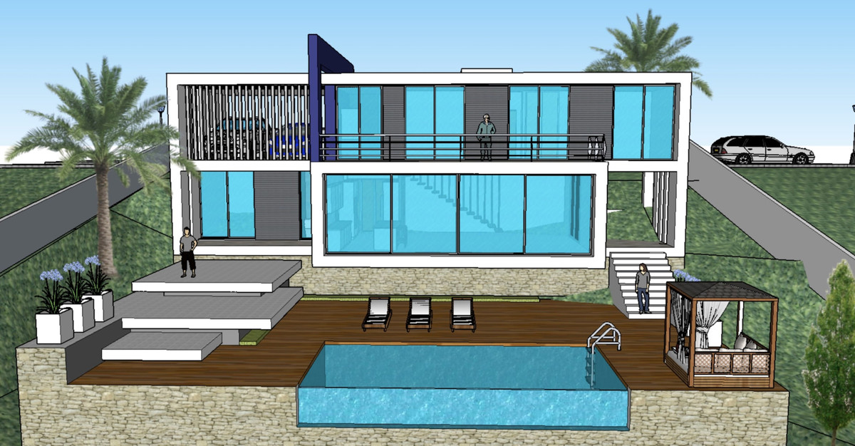 Off-plan villa in Lomas de Mijas, Mijas Pueblo, with sea views, who will be build over 2 floors Stre, Spain