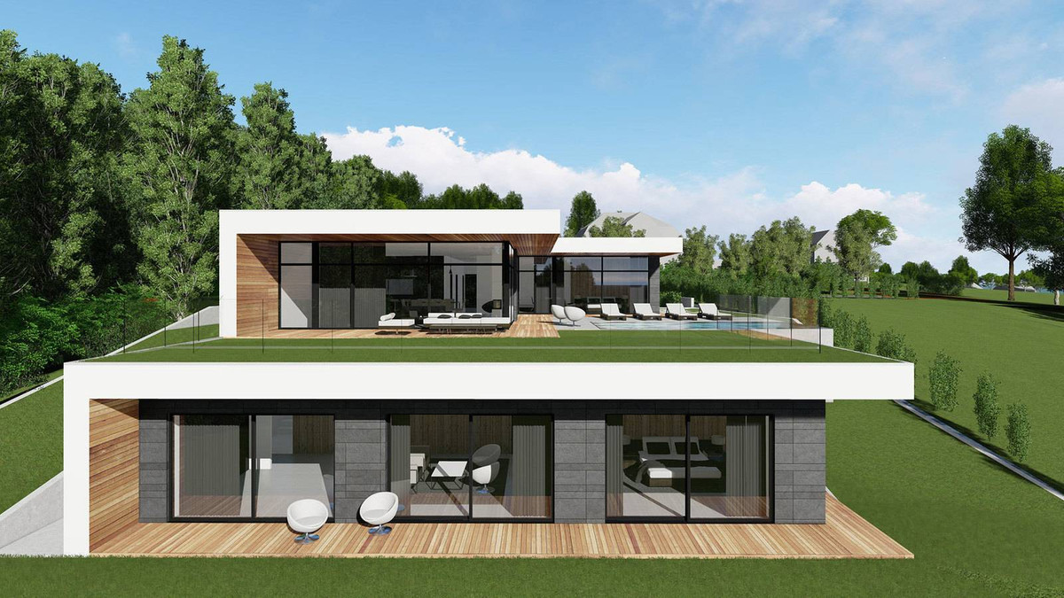Off-plan luxury villa from €795.000 on an excellent plot with panoramic views to Mijas Pueblo and th,Spain