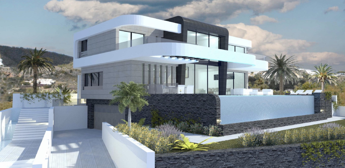 From 1.795.000 € - Off-plan contemporary villa in Monte Mayor Alto with absolute beautiful sea views, Spain