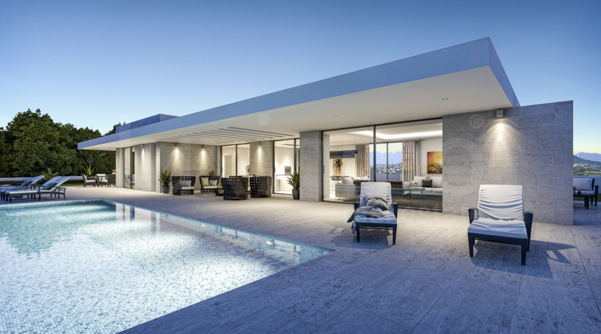 OFF-PLAN CONTEMPORARY VILLA in La Cala de Mijas only 6 km away from the beaches, bars, and restauran,Spain