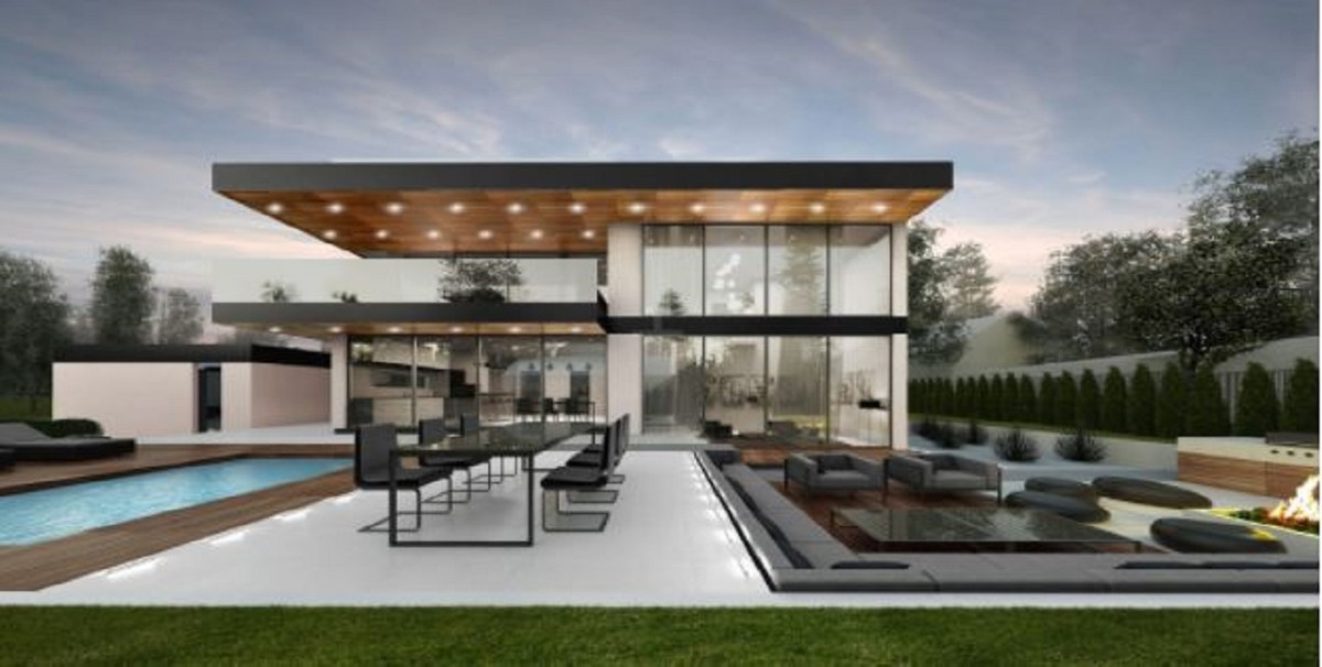 - Off-plan luxury contemporaryvilla on an excellent plot with sea views, in the well-known urbanizat,Spain