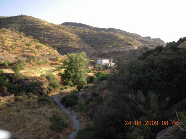 A nice finca in La Alpujarra Granadina, views to Sierra Nevada, 15H almond trees, 7 h fig trees. Ide, Spain