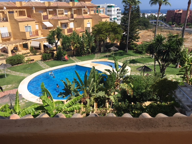 Charming townhouse with east facing. Only at five minutes from the beach. The property has three en-, Spain