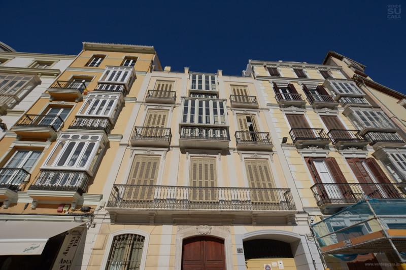 Bovenverdieping Appartement in Málaga Centro