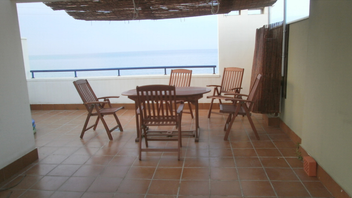 Wonderful townhouse in front line of Benagalbon Beach, Rincon de la Victoria. This great house is di, Spain