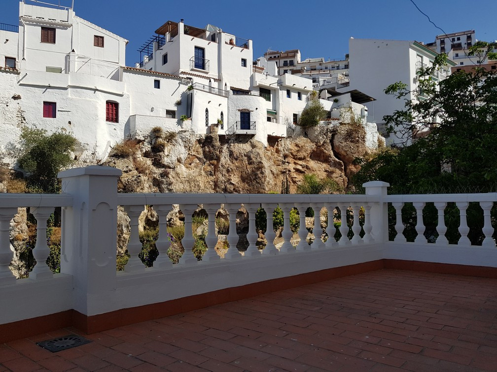 Townhouse in Competa with a total of 94.42 m2, built on three floors, the upper floor distributed in, Spain