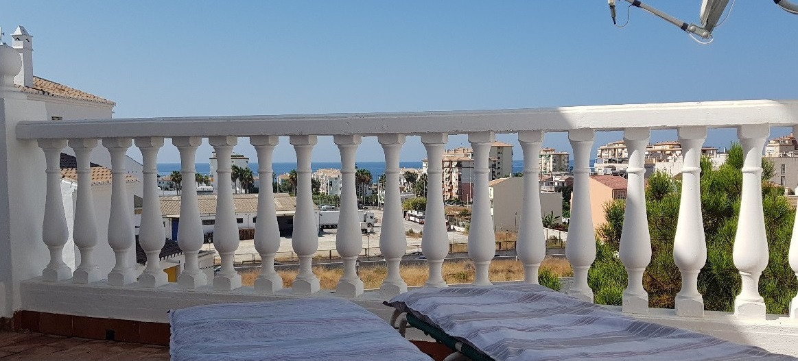 Nice two bedroom apartment in Torrox Costa with a large terrace overlooking the sea.  The apartment ,Spain