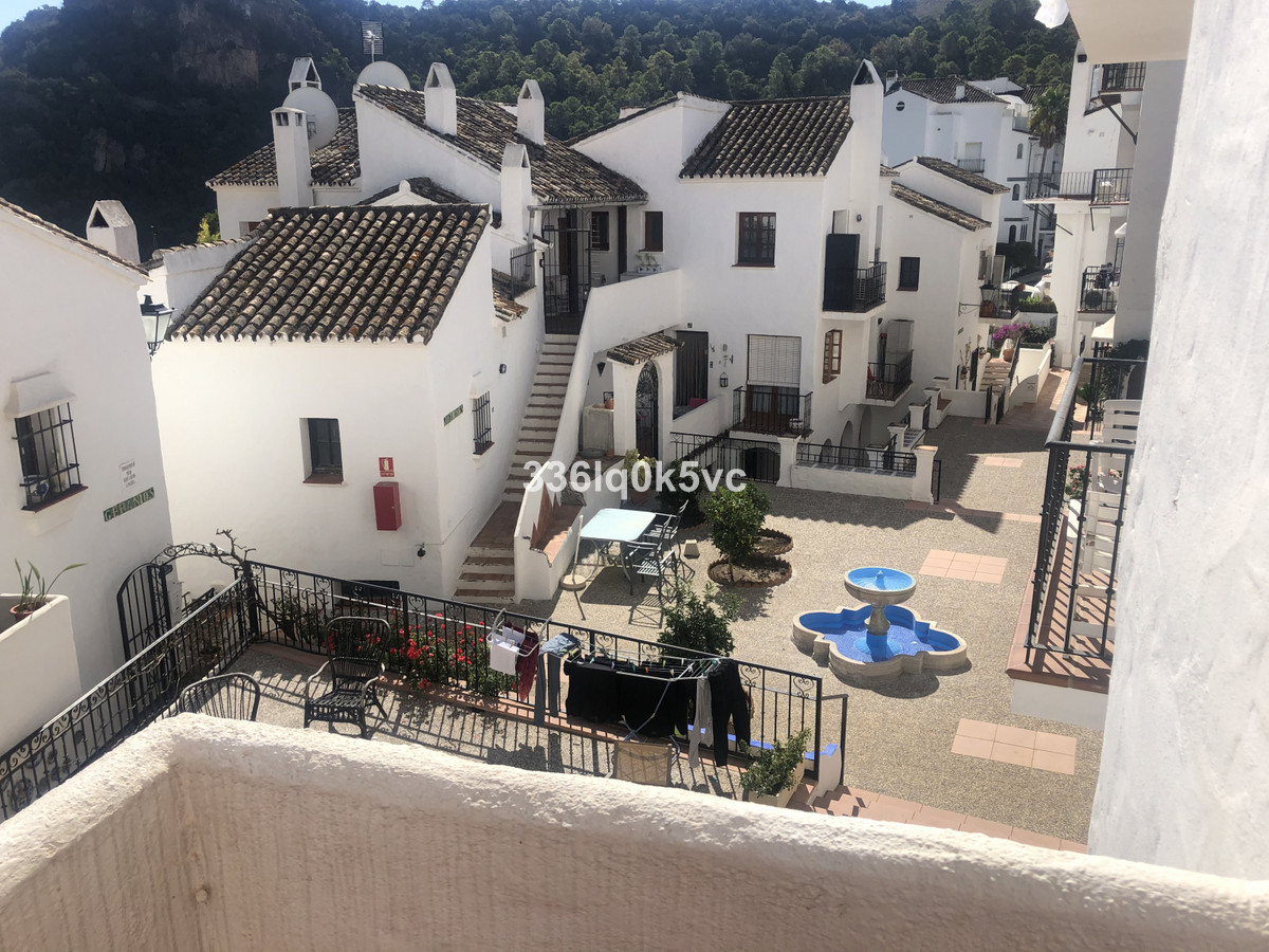 In the village of Benahavis, 2 bedroom apartment in a quiet urbanization. Spacious living room with ,Spain