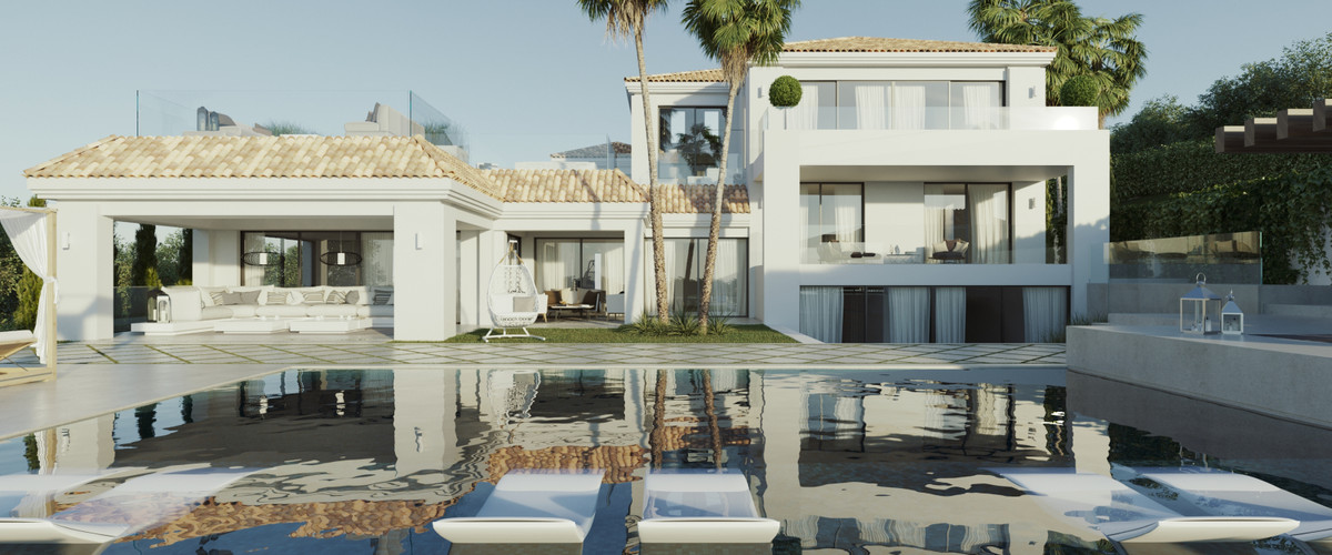 GOLF VILLA - LOS NARANJOS Impeccable designer residence on a double plot located in one of the most ,Spain