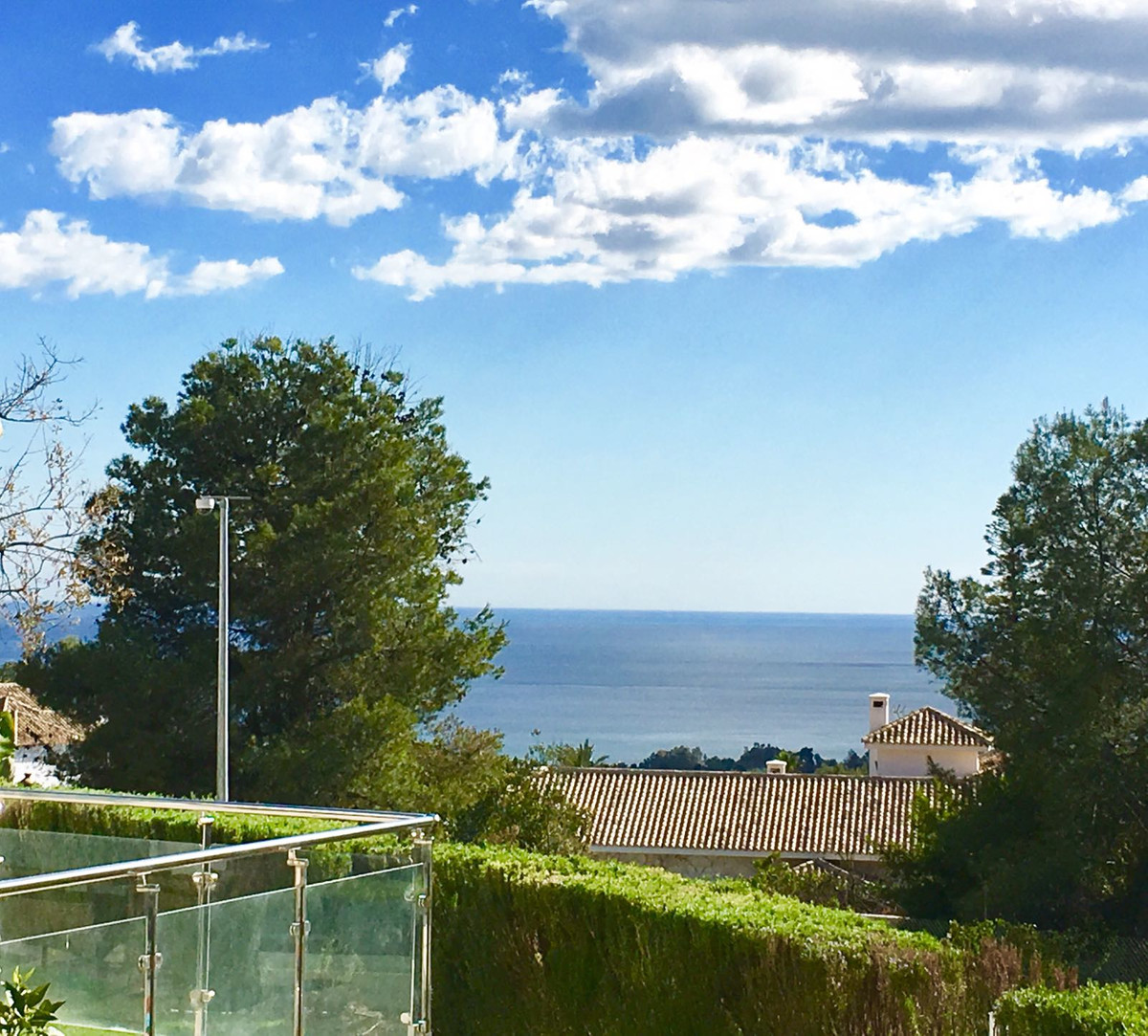 For sale a Beautiful modern townhouse with nice sea views in Nagueles- Marbella. Located in an exclu, Spain