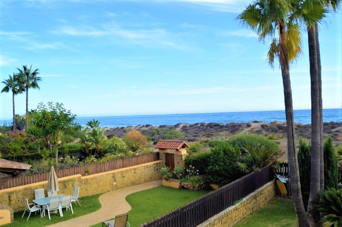 For sale a property in first line beach complex,  in Bahia de Marbella area.  Located in Marbella, f, Spain