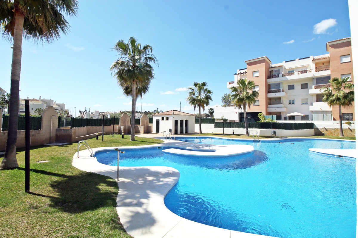 Spacious two bedroom apartment for sale in Arenal Golf, Benalmadena. With two parking spaces, commun,Spain