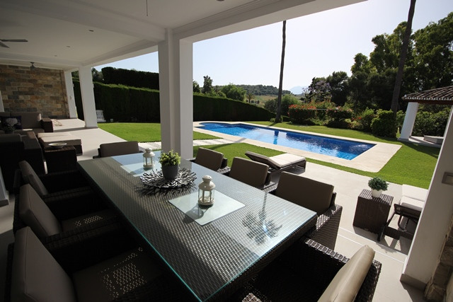 This luxury, font-line golf property was recently refurbished to the highest standards and offers a , Spain